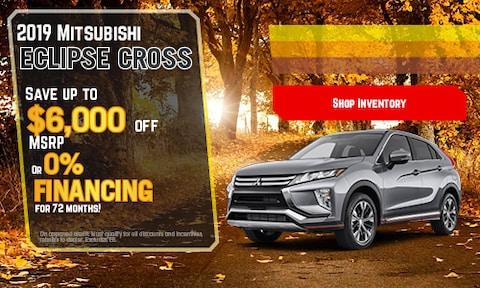 New 2019 Mitsubishi Eclipse Cross   Savings or APR