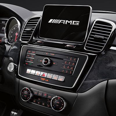 Mercedes Benz GLE Infotainment