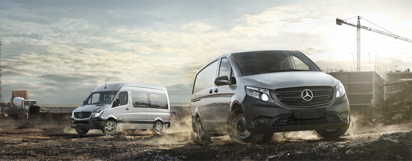 MercedesBenz Van Lineup Finance A New MercedesBenz Van In NJ - Mercedes benz commercial vans
