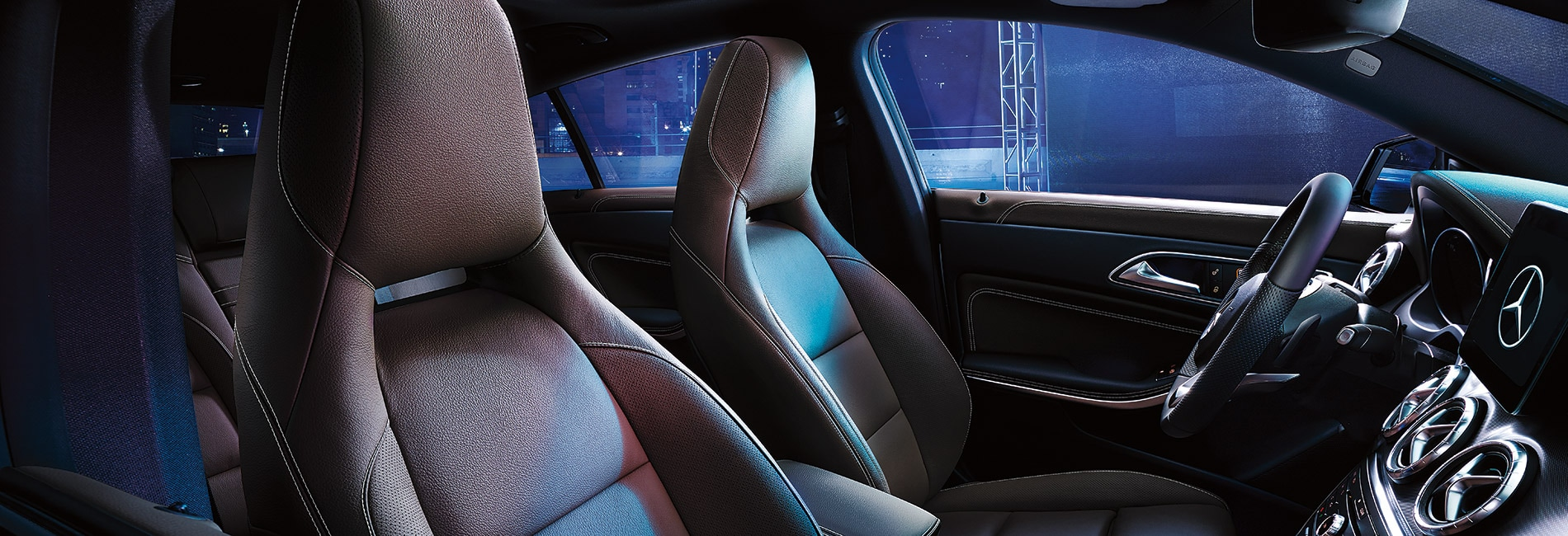 Mercedes Benz A-Class Interior Vehicle Features