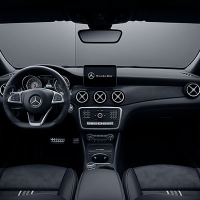 Mercedes Benz GLA Infotainment
