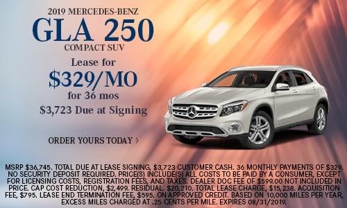 2019 Mercedes-Benz GLA 250 Compact SUV
