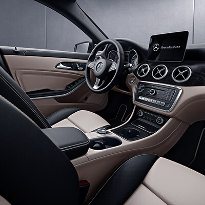 Mercedes Benz CLA 250 Infotainment