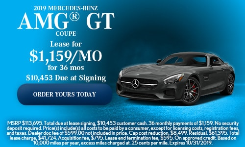 2019 Mercedes-Benz AMG® GT Coupe