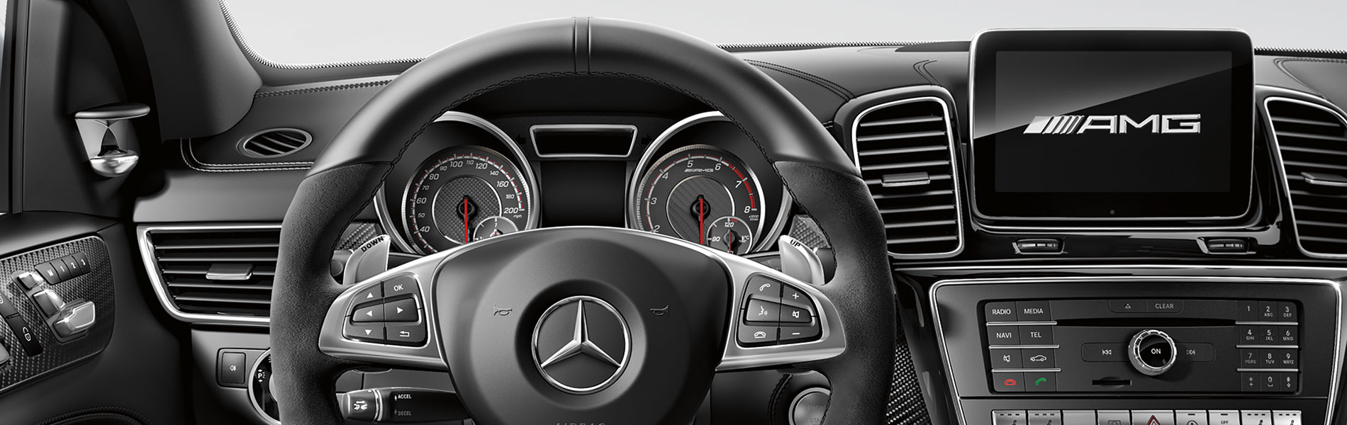 Mercedes Benz GLE Interior Vehicle Features