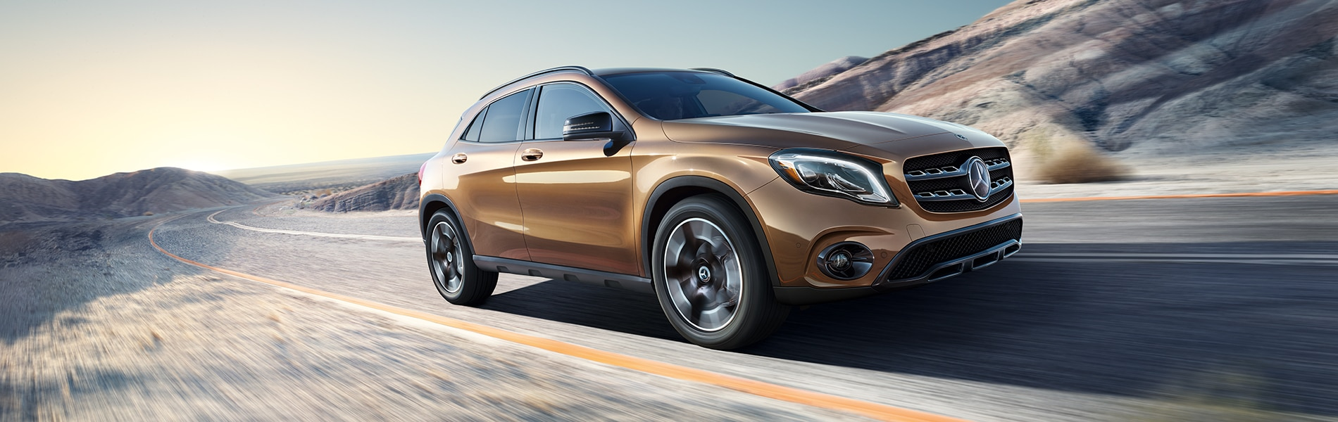 Mercedes Benz GLA Exterior Vehicle Features