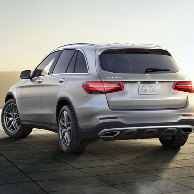 Mercedes Benz GLC Charging Innovation