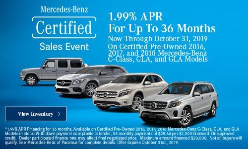 Mercedes Benz Dealers In Nj >> Pre Owned Mercedes Benz Specials Paramus Nj Mercedes
