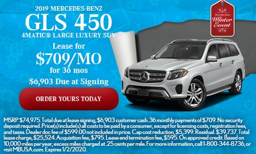 2019 Mercedes-Benz GLS 450 4MATIC® Large Luxury SUV