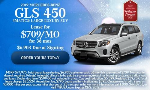 2019 Mercedes-Benz GLS 450 4MATIC® Large Luxury SUV