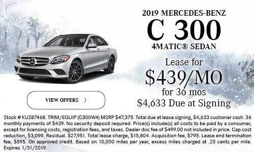 2019 C 300 Sedan