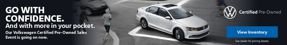Volkswagen Certified Pre-Owned Sales Event