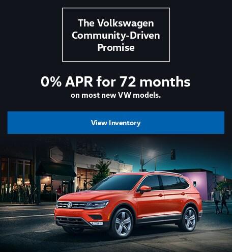 Volkswagen Financing Special Offer