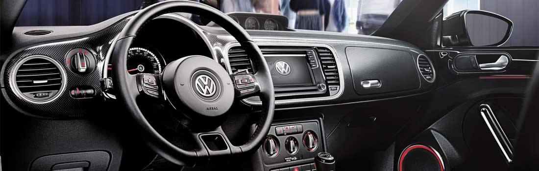 2016 VW Beetle interior