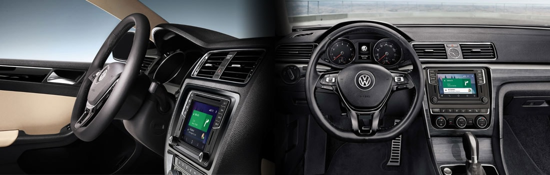 2017 VW Jetta and Passat Interior