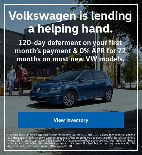 Deferred Payments and 0% Financing Offer
