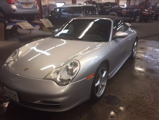 2003 Porsche 911 Carrera 4 Convertible