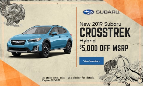 New 2019 Subaru Crosstrek Hybrid