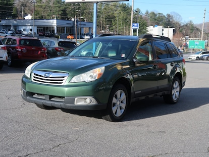 Used 2011 Subaru Outback 2 5i Premium For Sale in Asheville NC | VIN:  4S4BRBCC3B3326856