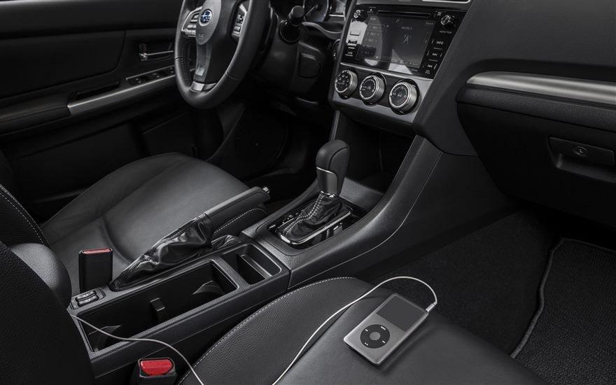 2015 Crosstrek Vs. Mazda C 5 Interior