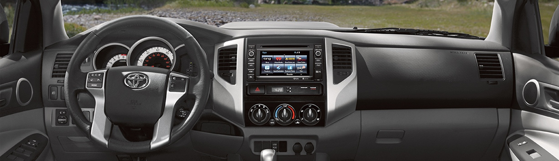 The 2015 Toyota Tacoma Cabin Is Unusually Comfortable, Clean And  Functional, Perfect For Truck Owners. Toyota Made Sure That All Gauges Are  Easy To View And ...