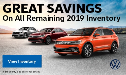 Great Savings On All Remaining 2019 Inventory