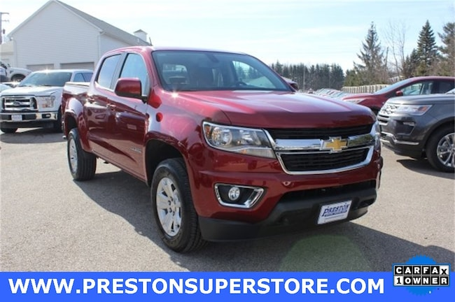 Certified Pre-owned 2017 Chevrolet Colorado LT Truck in Burton, OH