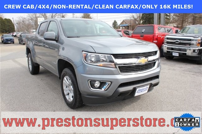 Certified Pre-owned 2018 Chevrolet Colorado LT Truck in Burton, OH