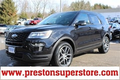 New 2019 Ford Explorer Sport SUV in Burton, OH