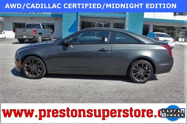 Certified Pre-owned 2016 Cadillac ATS 2.0L Turbo Luxury Coupe in Burton, OH