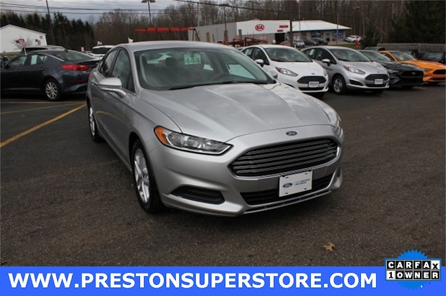 Certified Pre-owned 2015 Ford Fusion SE Sedan in Burton, OH