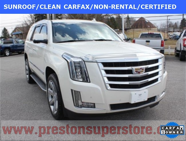 Certified Pre-owned 2015 Cadillac Escalade Luxury SUV in Burton, OH