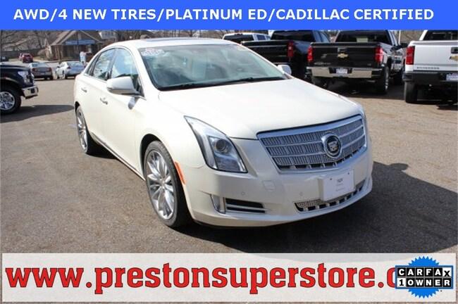 Certified Pre-owned 2015 Cadillac XTS Platinum Sedan in Burton, OH