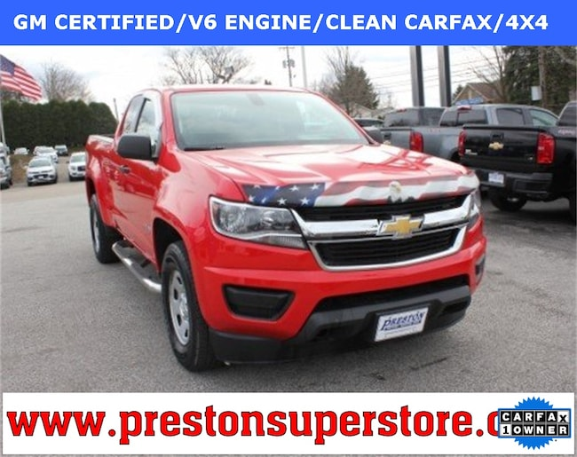 Certified Pre-owned 2016 Chevrolet Colorado Work Truck Truck in Burton, OH