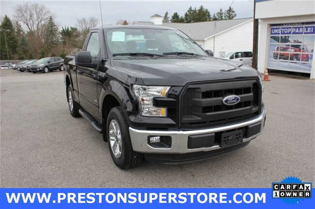 Certified Pre-owned 2016 Ford F-150 XL Truck in Burton, OH