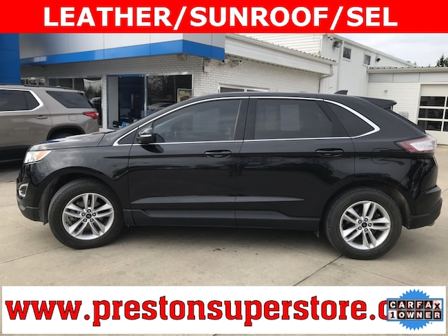 Certified Pre-owned 2015 Ford Edge SEL SUV in Burton, OH