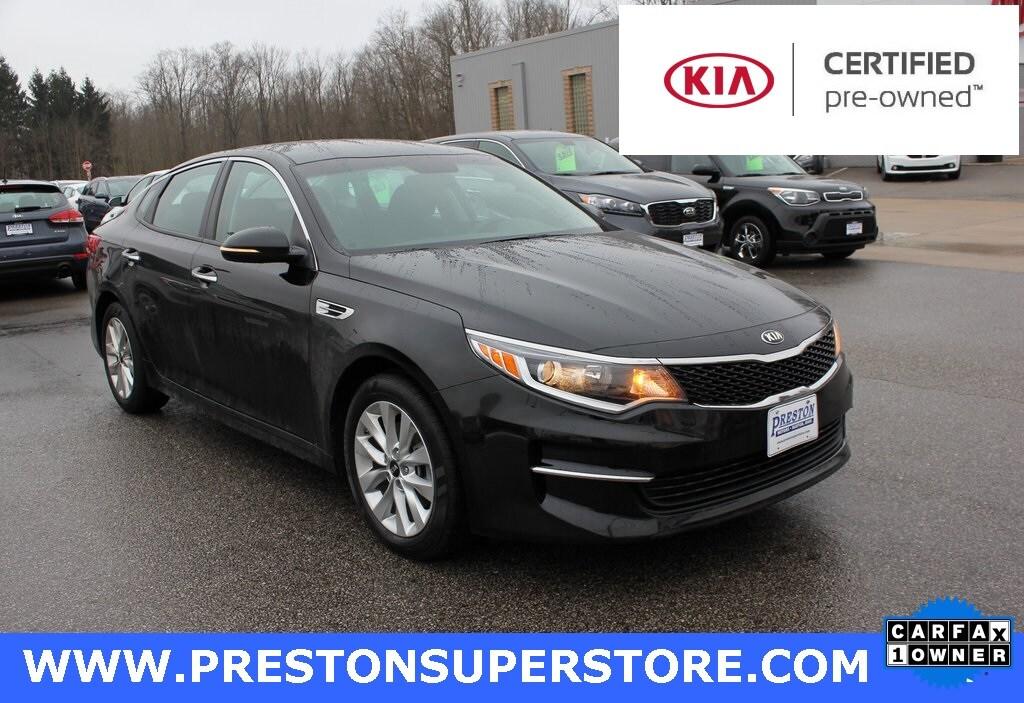 in Burton, OH 2016 Kia Optima LX Sedan