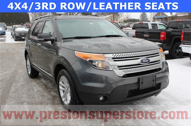 Used 2015 Ford Explorer XLT SUV in Burton, OH