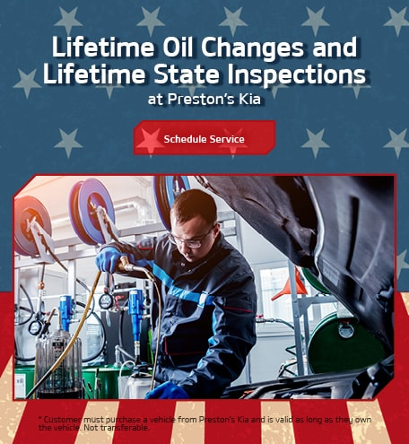Lifetime Oil Changes and Inspections