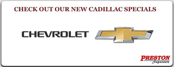 Click on this link to see our new Chevrolet specials