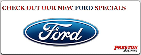 Click on this link to see our new Ford specials