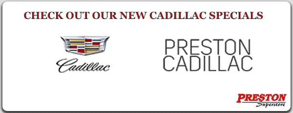 Click on this link to see our new Cadillac specials