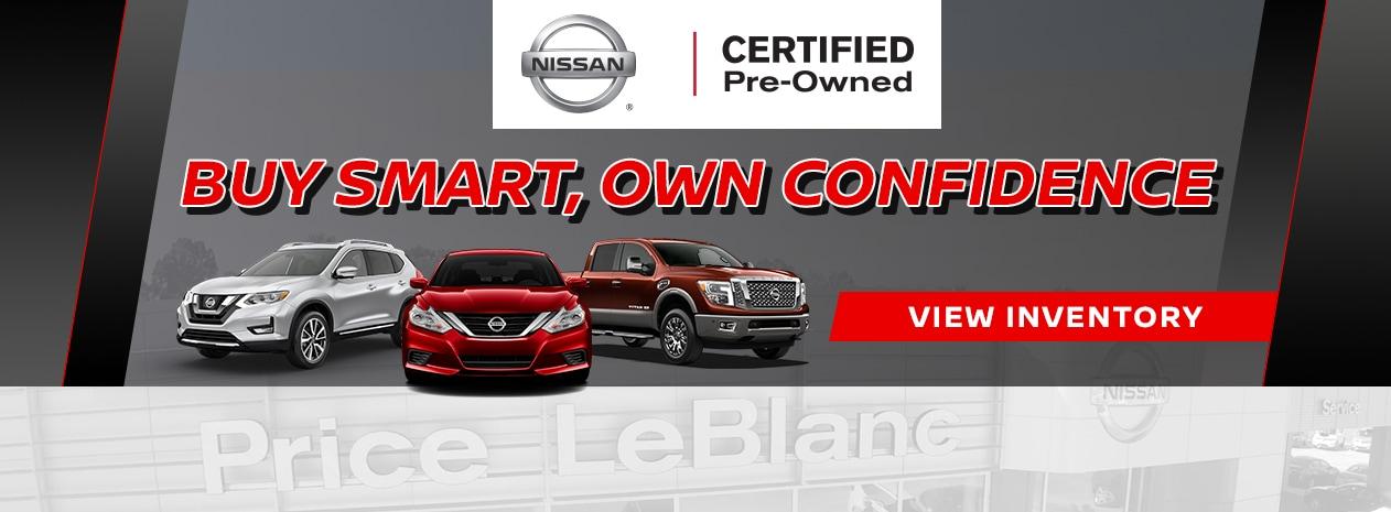 Price LeBlanc Nissan   New Nissan Dealership in Gonzales, LA