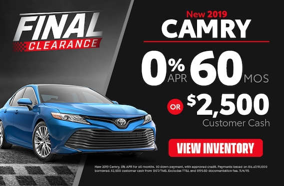 Toyota Baton Rouge >> Camry Specials In Baton Rouge Price Leblanc Toyota
