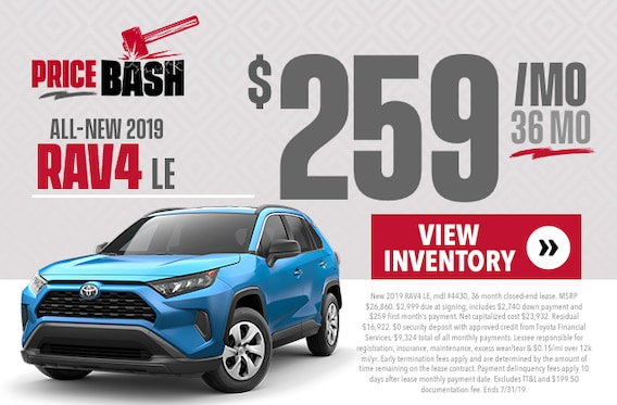 RAV4 Specials in Baton Rouge | Price LeBlanc Toyota