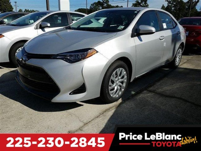 New 2019 Toyota Corolla For Sale Baton Rouge La 5yfburhe9kp917934