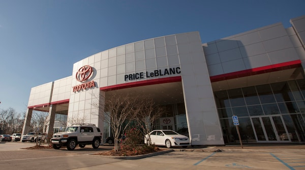 Price LeBlanc Toyota dealership in Baton Rouge picture