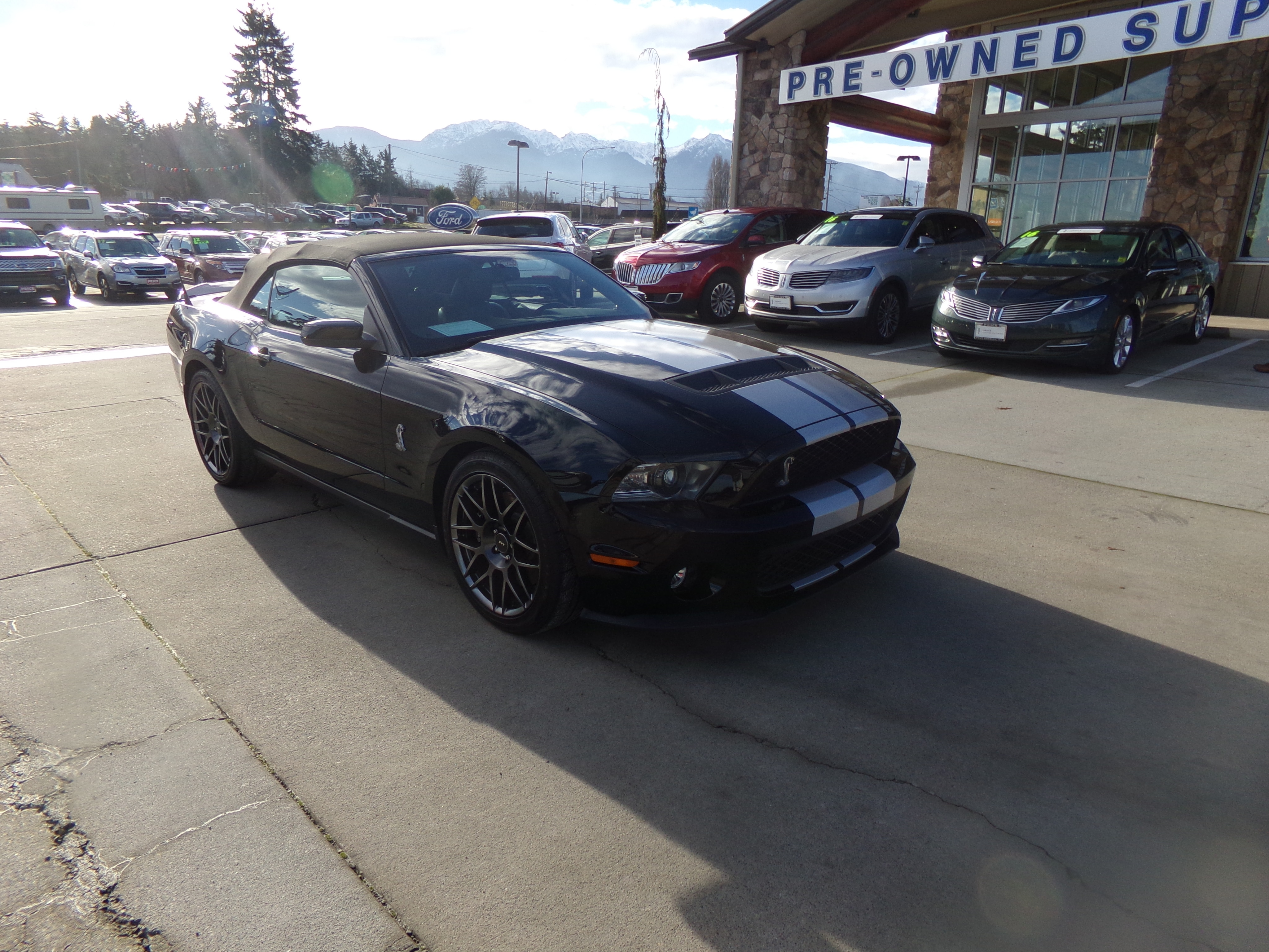 2011 Ford Mustang Shelby GT500 GT500 Conv Shelby