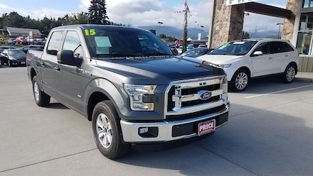 2015 Ford F-150 XLT 2WD SuperCrew 145