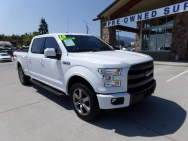 2015 Ford F-150 Lariat 4WD SuperCrew 157